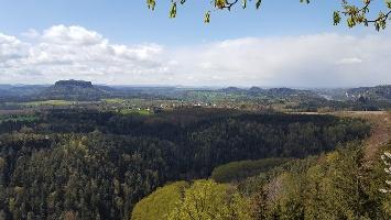Foto tolles Panorama von der Brandaussicht an der Brandbaude