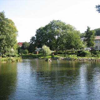 Rethlager Mühlenteich Sommer