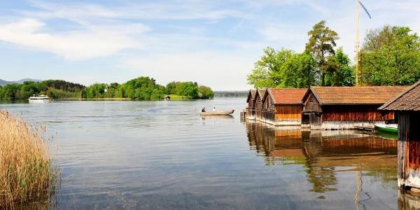 Fernwanderweg Meditationsweg - Blick auf den Staffelsee