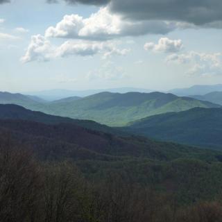 Bieszczady panorama