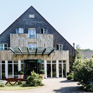 Eingang Landhotel Voshövel