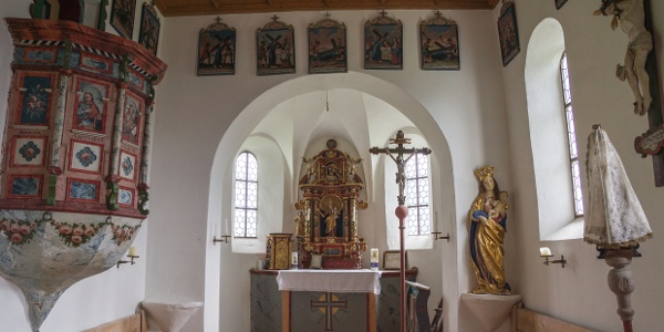 Kirche in Bürstegg