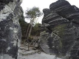 Foto Der Aufstieg auf den Gamrig