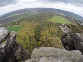 Foto auf dem Lilienstein