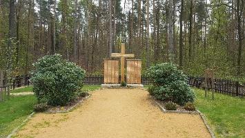 Foto der Waldfriedhof am Kirchsteig auf dem Weg zum Lilienstein