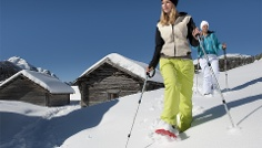 Snowshoeing at Sorafurcia/Geiselsberg