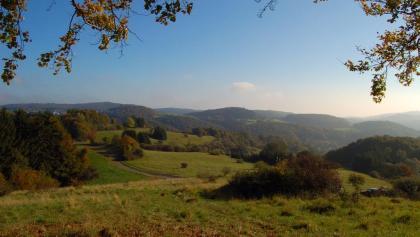 Blick über das Lahn-Dill-Bergland