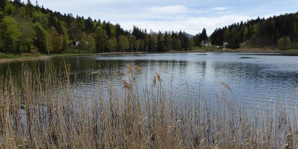 Der Lago Santo bzw. Heiliger See / Heiligensee