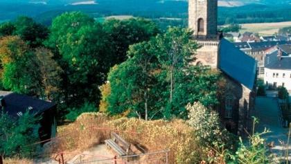 """Aussichtpunkt """"Alter Söll"""" in Schöneck"""