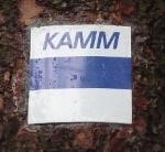 Markierungszeichen Kammweg Erzgebirge-Vogtland