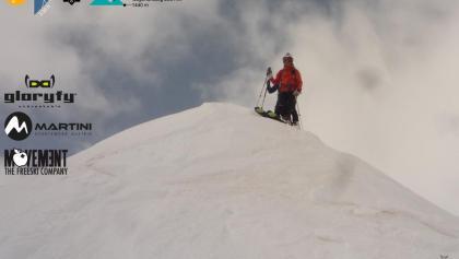 Tuc de Baciver - Titelbild - vom Gipfel weg mit Ski