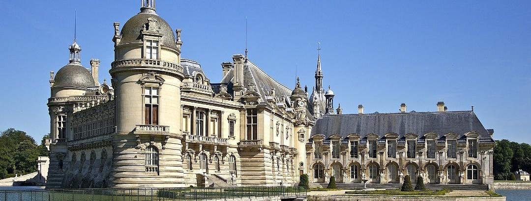 Schloss Chantilly im Département Oise
