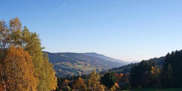 Aussicht vom Weg nach Maibrunn