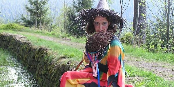 Hexe am Harzer-Hexen-Stieg