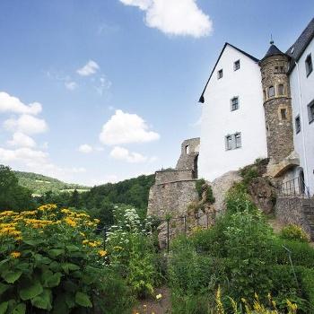 Kräutergarten am Schloss Lauenstein
