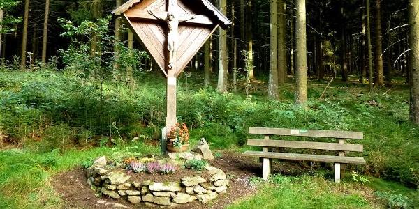 Feldkreuz am Weg nach Grünmühl