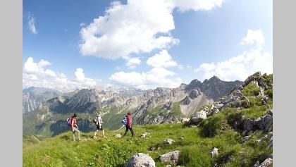 Bergtouren im Kleinwalsertal