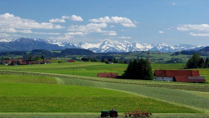 Bergblick bei Reicholzried