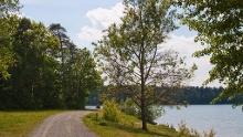 Wanderung um den Moritzsee