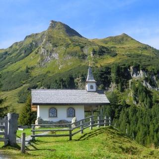 Kapelle oberhalb der Heinreichalm