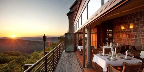 Landgrafenterrasse Romantik Hotel auf der Wartburg