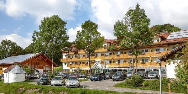 Start und Ziel Glashütt, Gasthof Buglhof