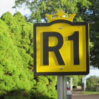 Riksettan, en av Sveriges äldsta länsvägar