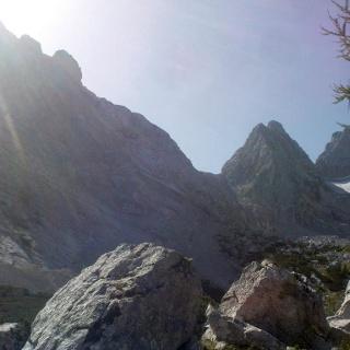Blick von der Blaueishütte