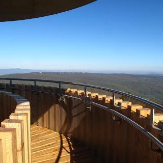 Panoramic view from Pilistetö