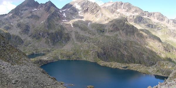 Wangenitzsee von Oberer Seescharte