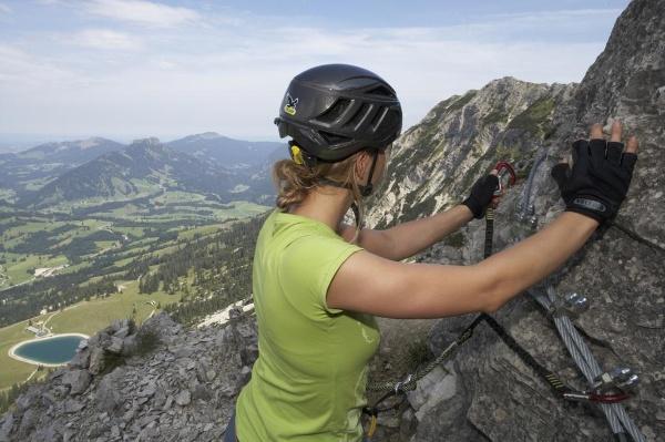 Klettersteig Tannheimer Tal : Salewa klettersteig