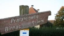 Prälatenweg vom Schloss Salem zur Wallfahrtskirche Birnau