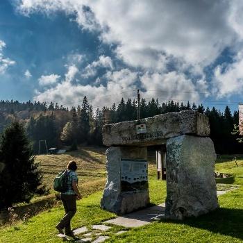 Westweg-Wandertor bei Todtmoos