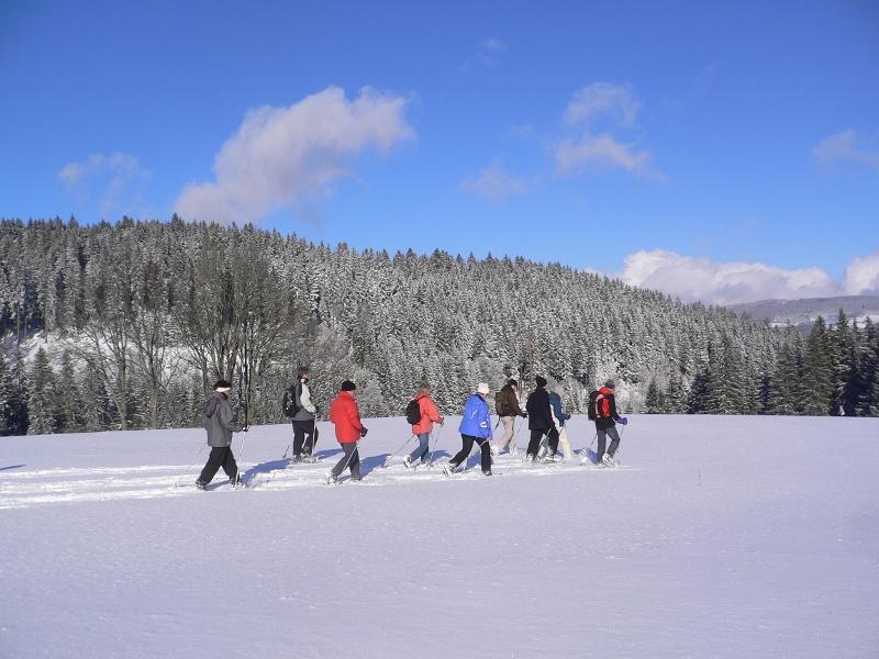 Kleine Tour rund um das Winterparadies Hinterzarten