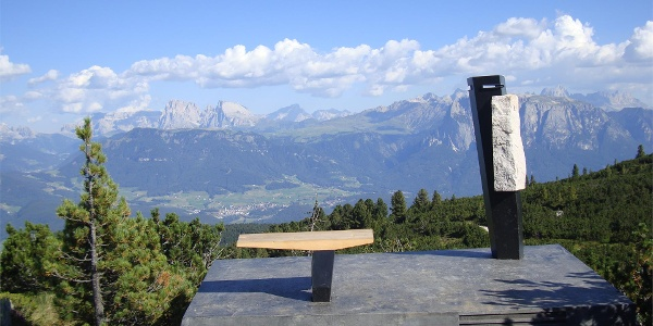 Dolomitoskop sul sentiero panoramico