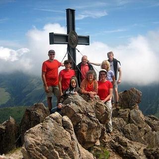 Der Gipfel des Gr. Rettenstein - 2.362 m