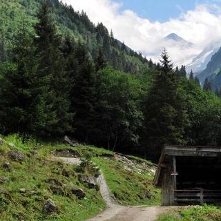 Blick zum Talschluß des Untersulzbachtales