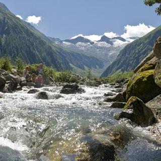 Der wunderschöne Talschluß vom Habachtal