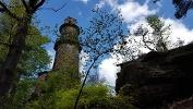 Foto Der Aussichtsturm auf dem Pfaffenstein