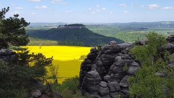 Foto Tolle Aussicht von der Nordwestseite des Pfaffensteins
