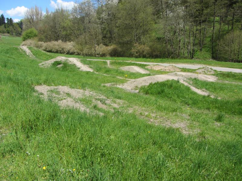 BMX-Strecke in Fichtenberg  - @ Autor: Silke Rüdinger  - © Quelle: Konrad Mandl