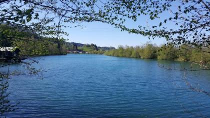 Blick auf den Sonthofer See.