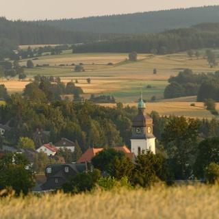 Blick auf Bad Steben, Foto: Frankenwald Tourismus/Andreas Hub