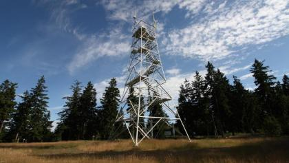 Prinz-Luitpold-Turm auf dem Döbraberg, Foto: Jörg Leiner