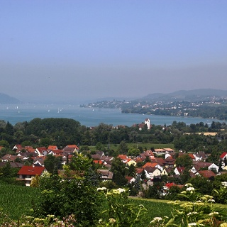 Schöner Ausblick auf den Überlinger See