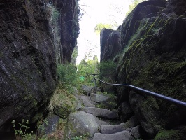 Foto Der nordseitige Aufstieg