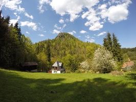 Foto Der Teichsteinblick hinter dem Zeughaus