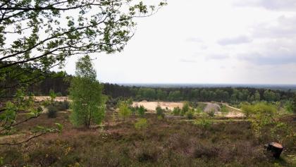 Sandgrube -Panoramablick