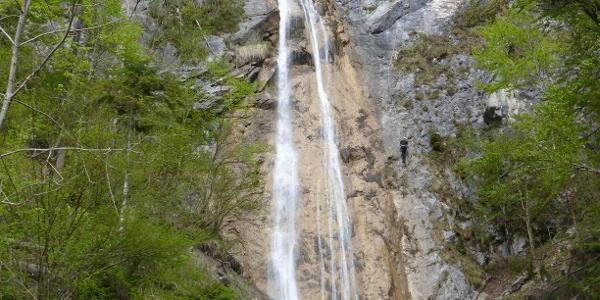 Klettersteig Wasserfall