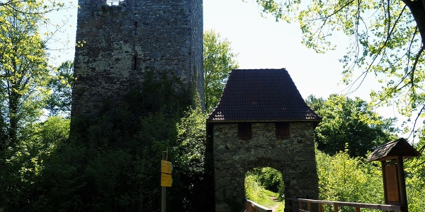 Ruine Haichenbach 471m